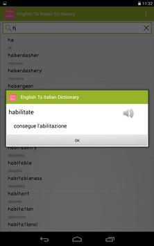 Dizionario Inglese-Italiano apk screenshot