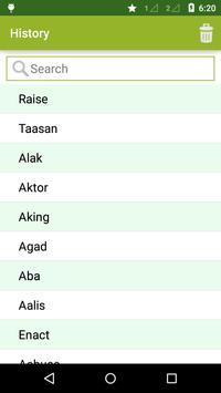 Tagalog to English Dictionary apk screenshot