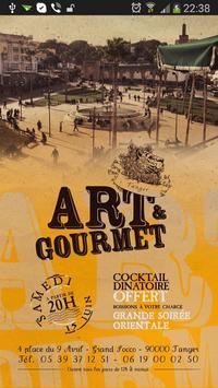 Art & Gourmet poster