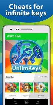 Cheats: Keys for Subway Surf poster