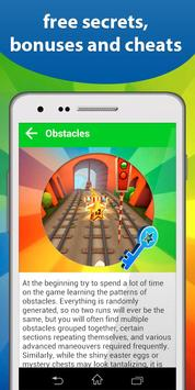 Cheats: Keys for Subway Surf apk screenshot
