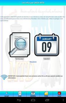 UNSA-MTD infos apk screenshot