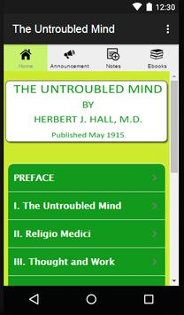 The Untroubled Mind poster