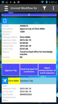 Unvired Workflow for SAP apk screenshot