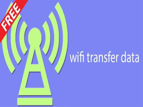 wifi transfer data poster
