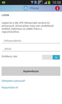 UPC Phone (Magyar) apk screenshot