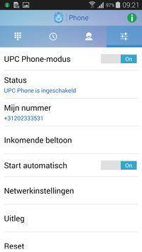 UPC Phone App apk screenshot