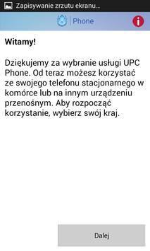 UPC Phone apk screenshot
