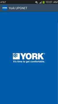 York UPGNET poster