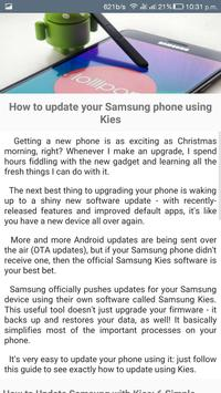 Updates for Samsung Android OS apk screenshot