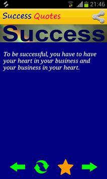 Success Quotes Free apk screenshot