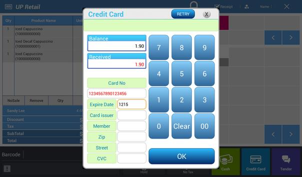 UP TAB™ Retail apk screenshot