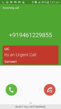 Urgent Call poster