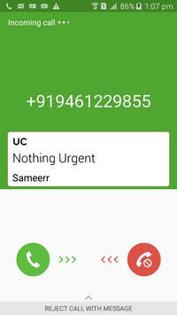 Urgent Call apk screenshot