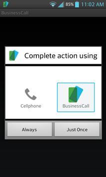 BusinessCall Texting & Calling apk screenshot