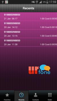 UrfonePlus apk screenshot