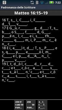 Scripture Mastery App (Ita) apk screenshot