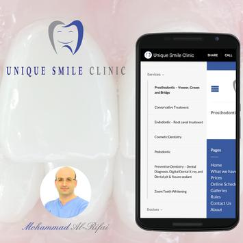 UniqueSmileClinic apk screenshot