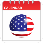 USA Holidays Calender icon