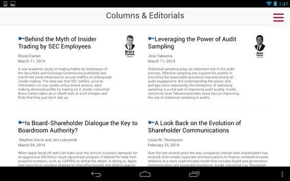 Compliance Week apk screenshot