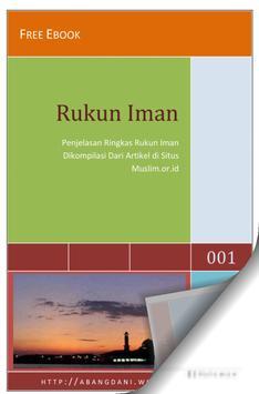 Rukun Iman Pemula poster