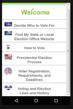 USA Elections and Voting apk screenshot