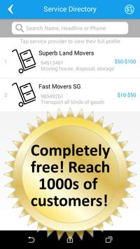 Mover Singapore Free Ads 搬运新加坡 apk screenshot