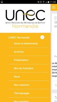 UNEC Normandie apk screenshot