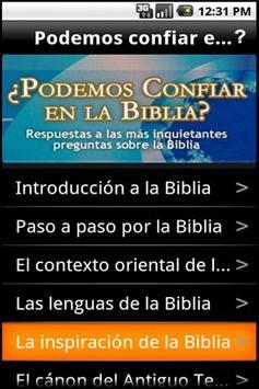 Podemos confiar en la Biblia? poster