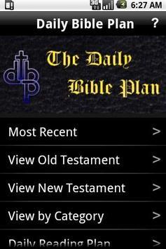 Daily Bible Plan Pro poster