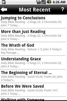 Daily Bible Plan Pro apk screenshot