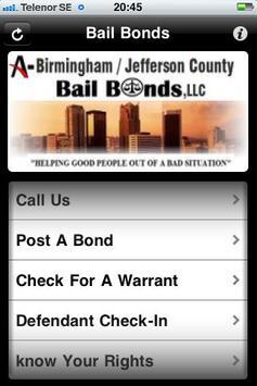 205 Bail Bonds poster
