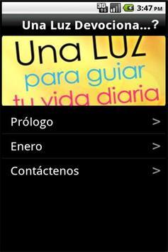 Una Luz: Devocionales Diarios apk screenshot