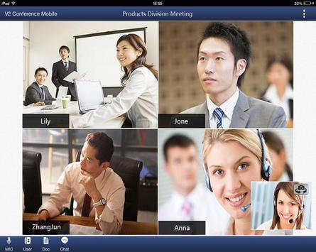 V2 Meet For Pad apk screenshot