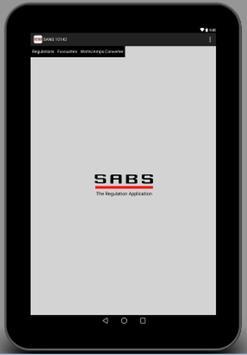SANS 10142 preview apk screenshot
