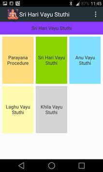 Sri Hari Vayu Stuthi Reference poster