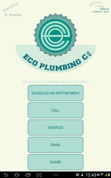 ECO PLUMBING poster