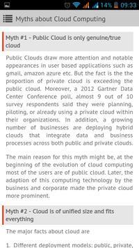 Cloud Computing apk screenshot