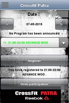 Crossfit Patra apk screenshot