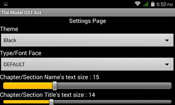 GST Model Law apk screenshot