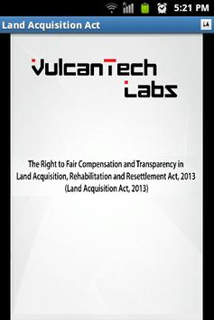 Land Acquisition Act 2013 poster
