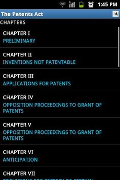 The Patents Act poster