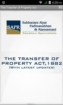 Transfer of Property Act poster