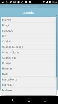 Previsão do Tempo Angola apk screenshot