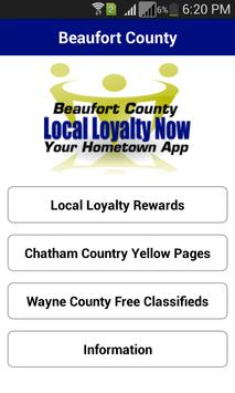 Beaufort Local Loyalty Now poster