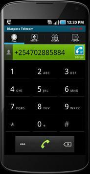 Diaspora Telecom: Cheap Calls. poster