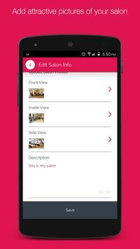 Vyomo Business- Manage Salons apk screenshot