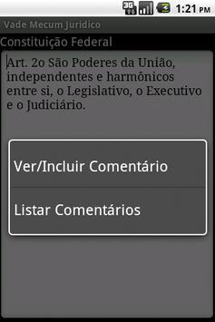 Vade Mecum Juridico apk screenshot