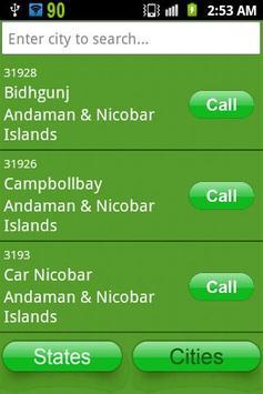 STD Code Of INDIA apk screenshot