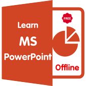 Learn MS PowerPoint offline icon